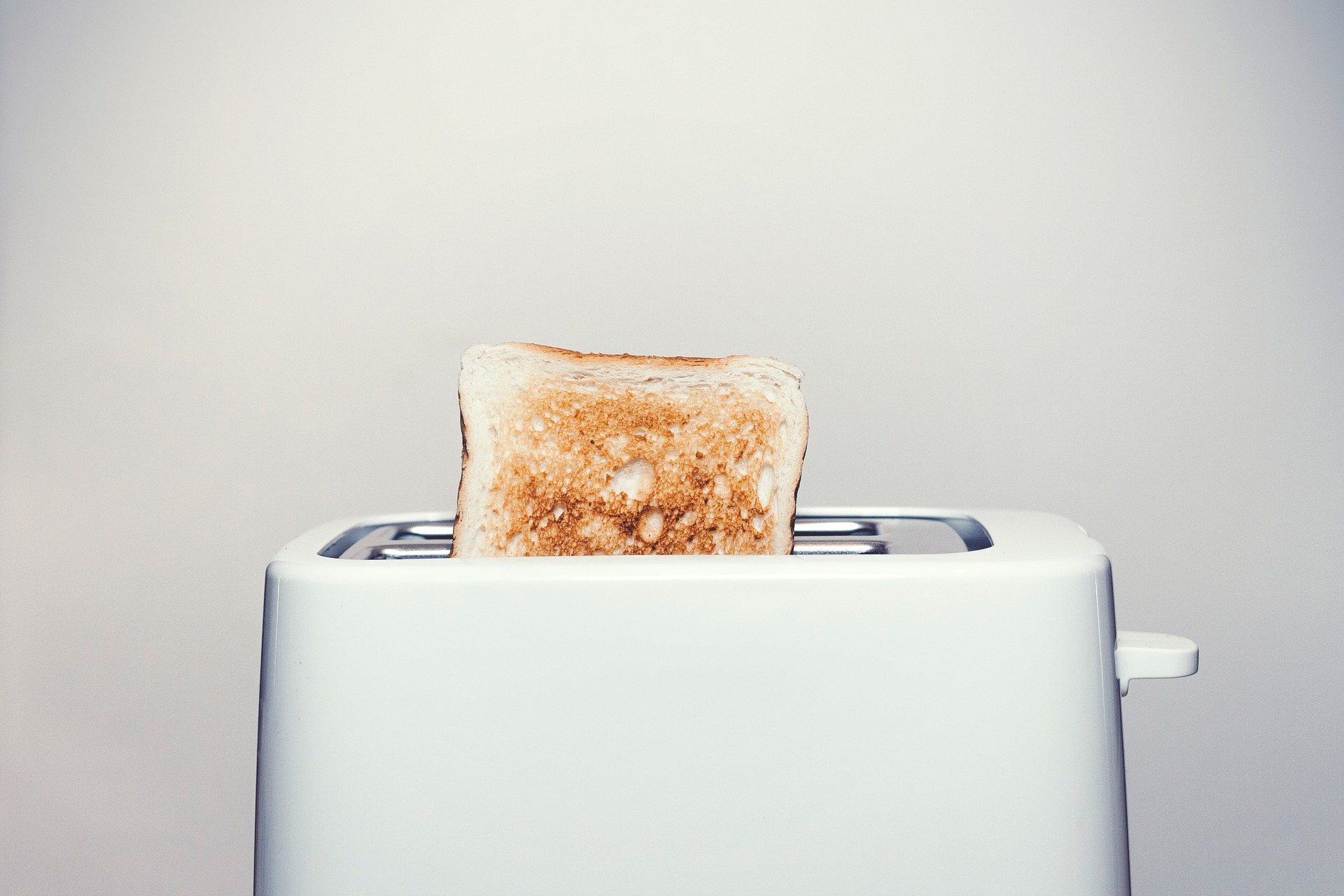 stock image of a toaster